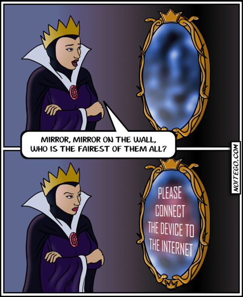 magic mirror mirror internet snow white - 8068922624