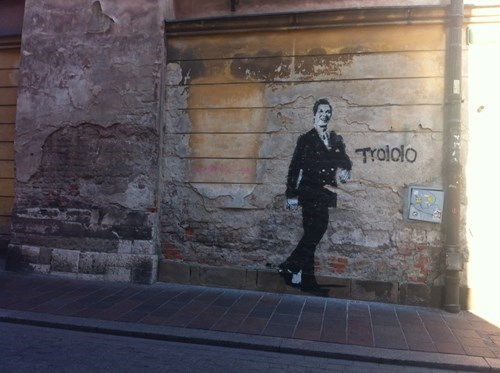 graffiti Street Art trololo - 8068989952