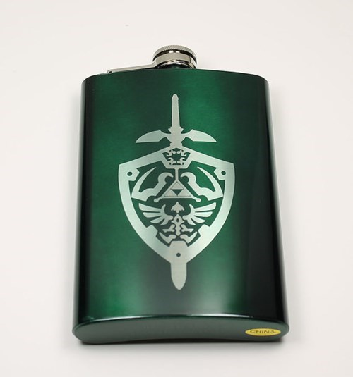 awesome flask legend of zelda funny video games - 8069149184