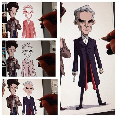 Fan Art,doctor who,regeneration