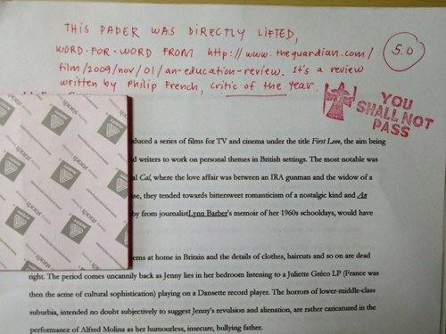 funny idiots paper Professors stamp g rated School of FAIL - 8069164288