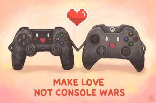 console wars PlayStation 4 xbox one