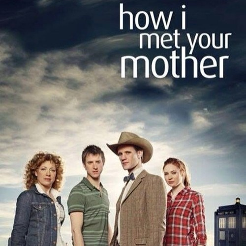 how i met your mother 11th Doctor amy pond River Song - 8069212416