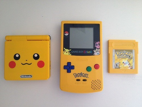 Pokémon game boy pikachu - 8069218048