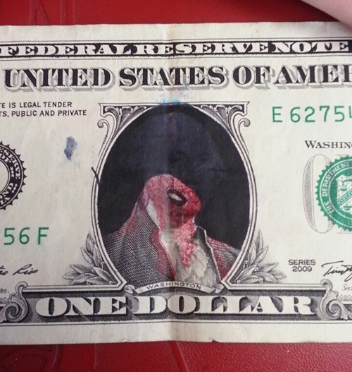 britain george washington dollar bills - 8069228288