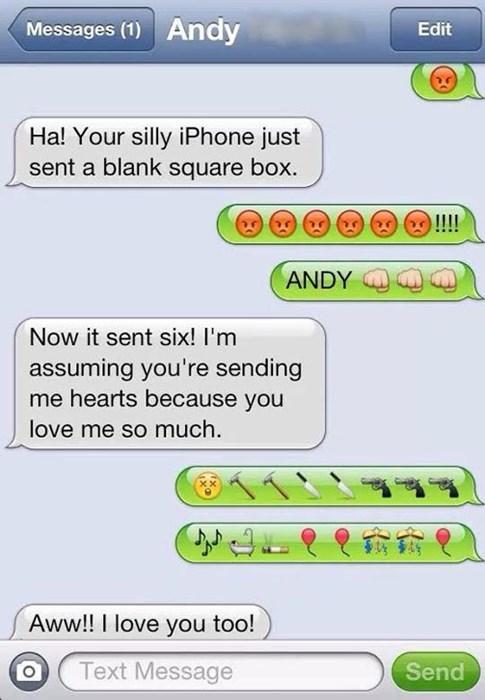 emoji texting - 8069288192