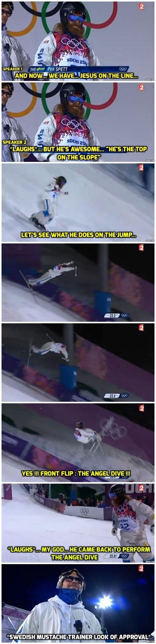 Sochi 2014 skiing trick - 8069290752
