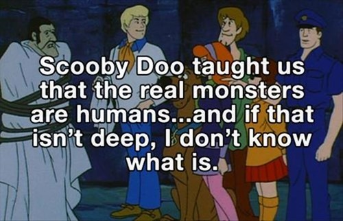scooby doo philosophy deep cartoons - 8069299968