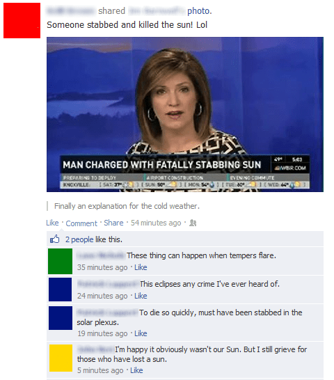 news,puns,sun,failbook