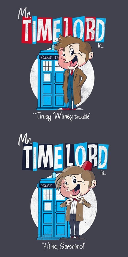tshirts 10th doctor 11th Doctor - 8069518080