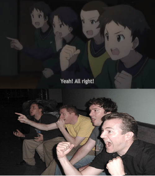 anime Memes reaction guys - 8069674496