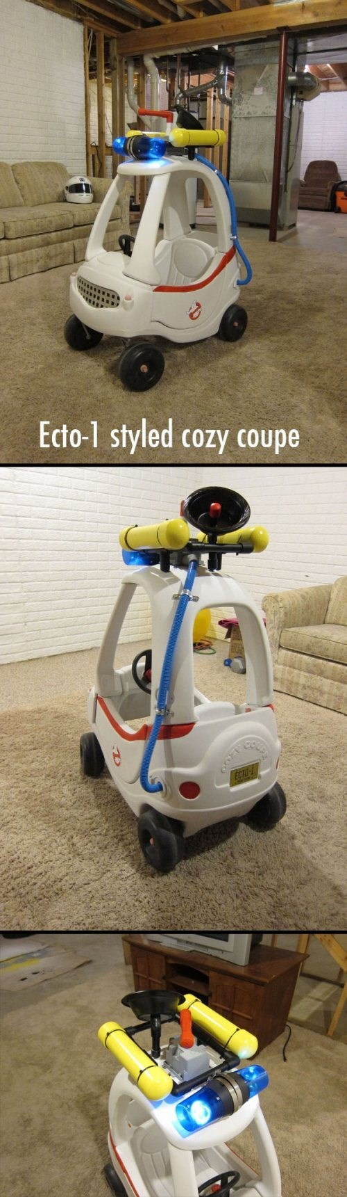 cozy coupe,toys,kids,Ghostbusters,parenting,ecto-1