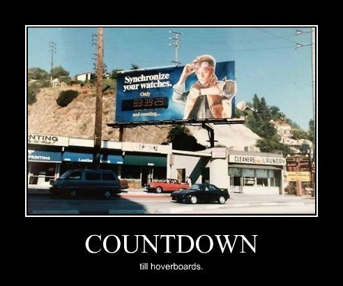 billboard,back to the future,movies,funny