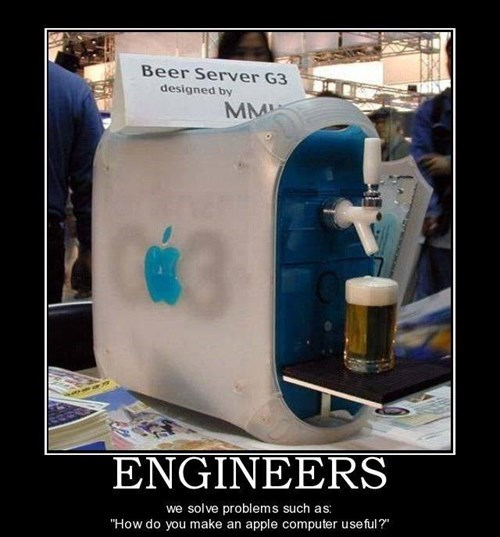 beer engineering mac funny