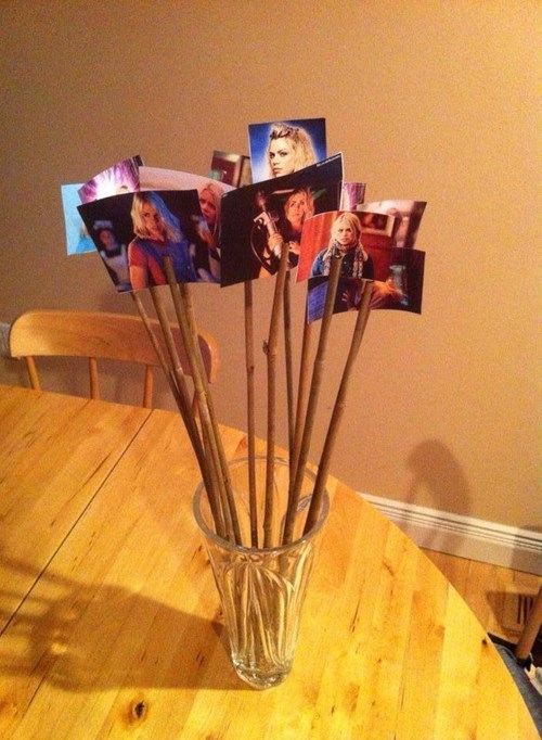 rose tyler puns doctor who Valentines day - 8070424320