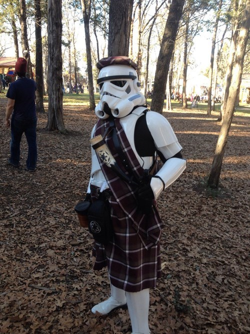 poorly dressed stormtrooper - 8070529024