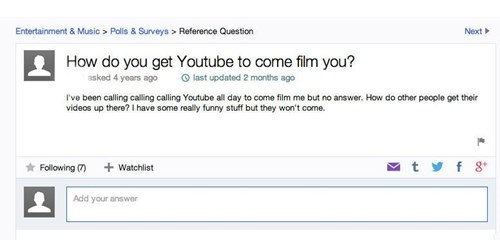 youtube,facepalm,yahoo answers