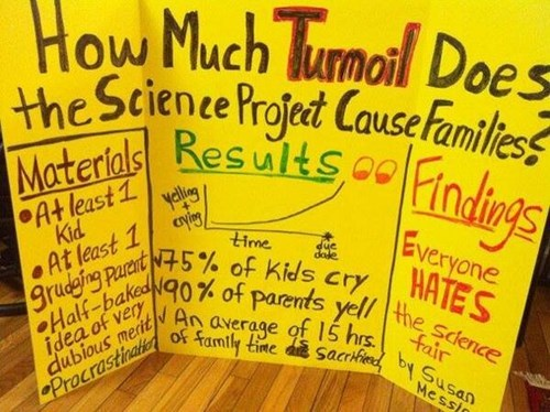 kids science fair funny parents g rated parenting - 8070574336