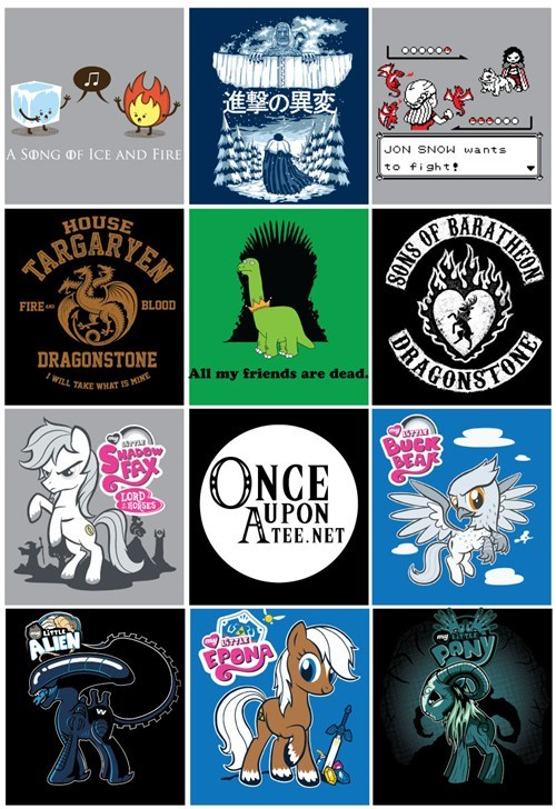 Game of Thrones tshirts MLP - 8070601472