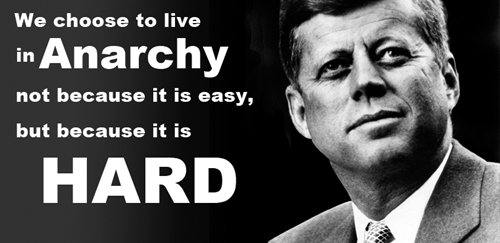 anarchy democracy jfk - 8070607616