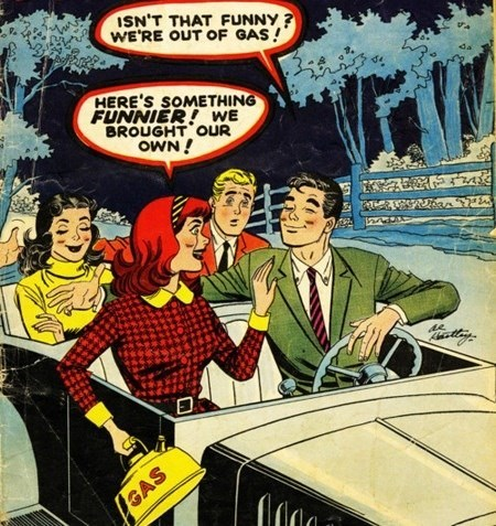 gas,comics,cars,funny,vintage
