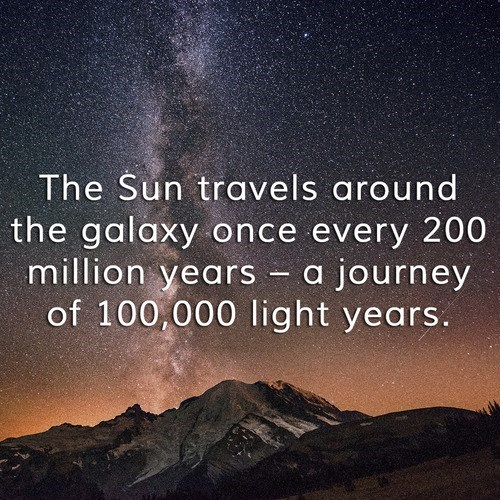 galaxy Fun Fact sun science space - 8070707456