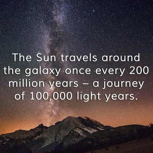 galaxy Fun Fact sun science space - 8070707456