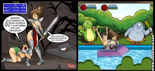 viñetas videojuegos Memes - 8070725632
