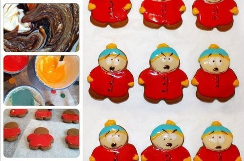South Park cookies cartoons noms - 8070753024