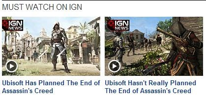 IGN,assassins creed