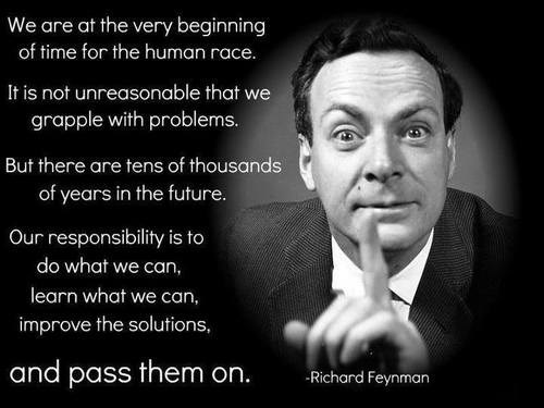 science knowledge quote richard feynman - 8070812416