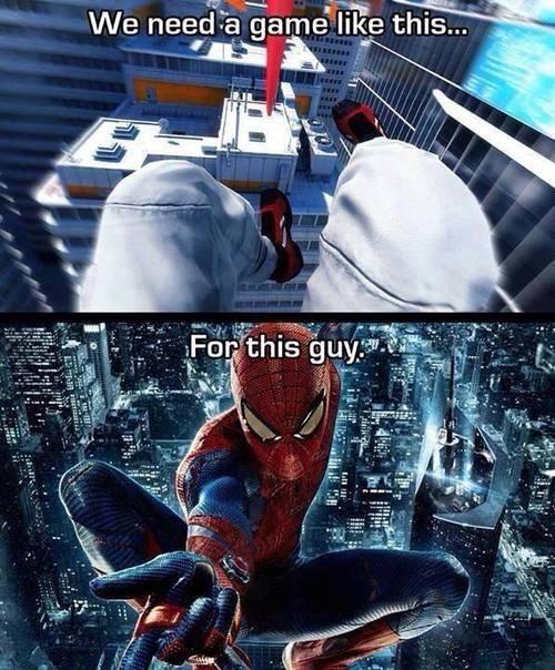 Spider-Man mirrors edge - 8070875136