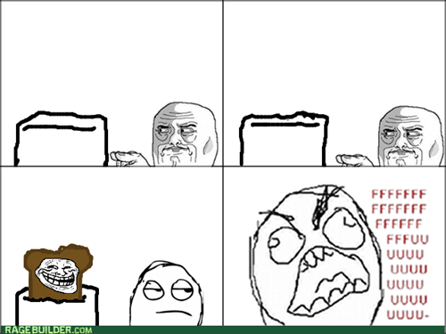 rage trollface im-watching-you toaster - 8070984960