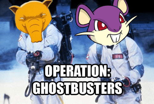 pokemon tower twitch plays pokemon Ghostbusters - 8071921664