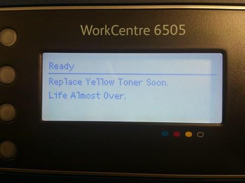 monday thru friday work printer - 8071933440