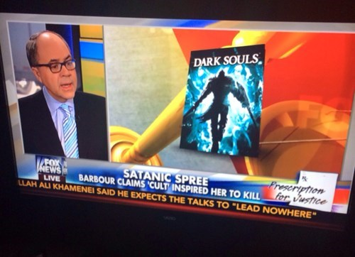 wtf fox news dark souls you've got to be kidding me Video Game Coverage - 8071939840