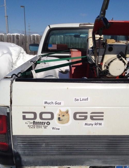 dogs doge Memes dodge trucks - 8072151296
