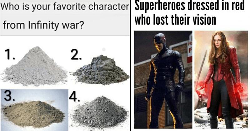 Marvel memes, depressing, funny memes, dank memes, avengers memes, thanos.