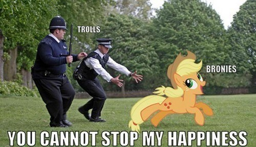 applejack,Bronies,hot fuzz,trolls