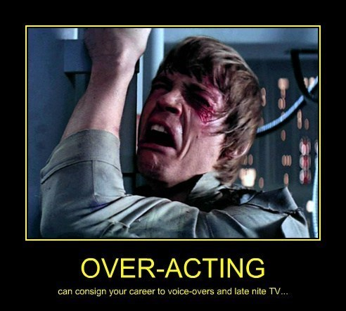 Mark Hamill,funny,star wars,overacting