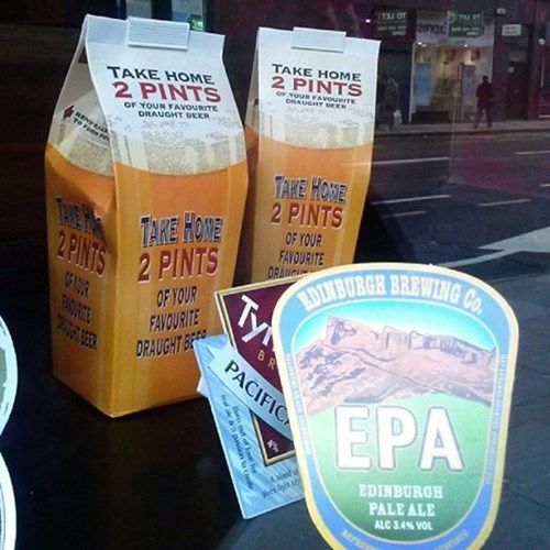 beer juice box funny pubs