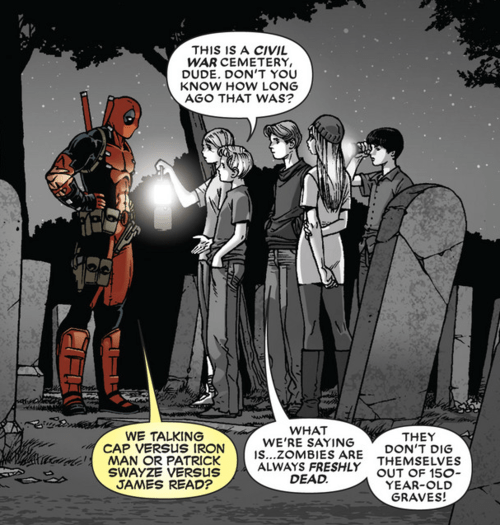 deadpool off the page civil war - 8072385024