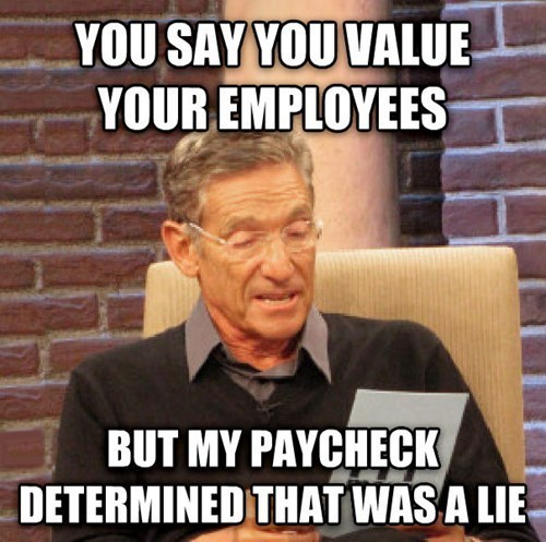 jobs bosses that was a lie employees maury - 8072401664