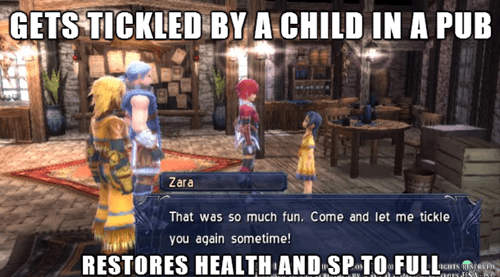 JRPGs,ys,video game logic