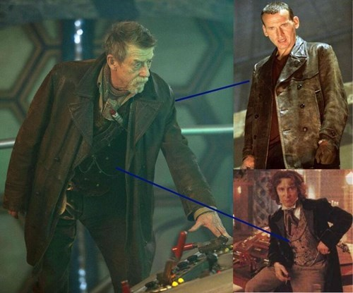 John Hurt's Costume Proves He's Doctor 8 1/2