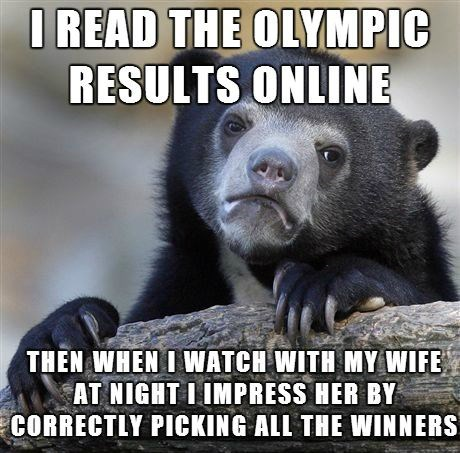 Sochi 2014 Confession Bear olympics - 8072625408