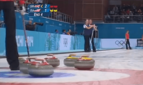 david attenborough,curling,Video,g rated,win