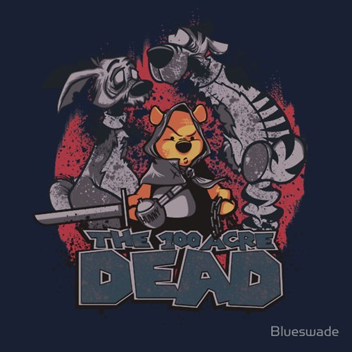 tshirts The Walking Dead winnie the pooh - 8072678656