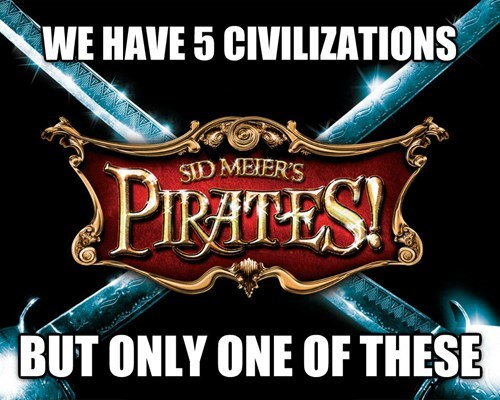 civilization pirates video games sid meier - 8072685568