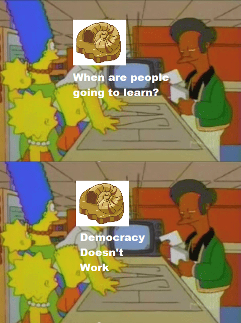 Pokémon twitch plays pokemon democracy the simpsons - 8072789504